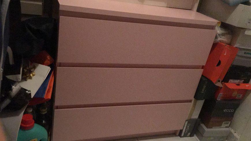 cassettiera-rosa